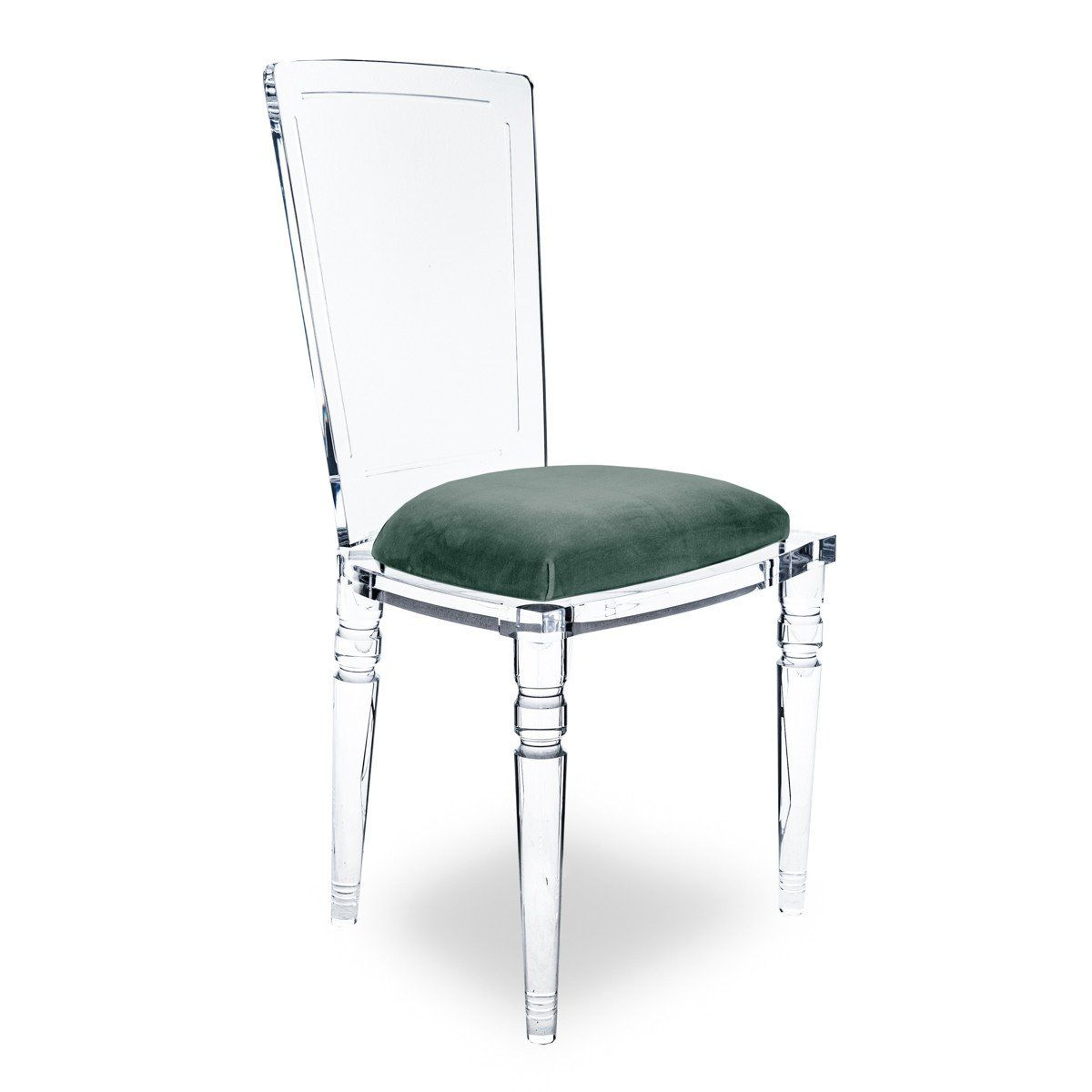Armless Juliette Lucite Chair Lucite Chairs Acrylic Dining