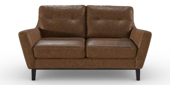 Buy Roscoe Leather Small Sofa 2 Seats Vintaged Light Brown Plinth Dark From The Next Uk Online Shop In 2020 Small Leather Sofa Unwanted Furniture Leather