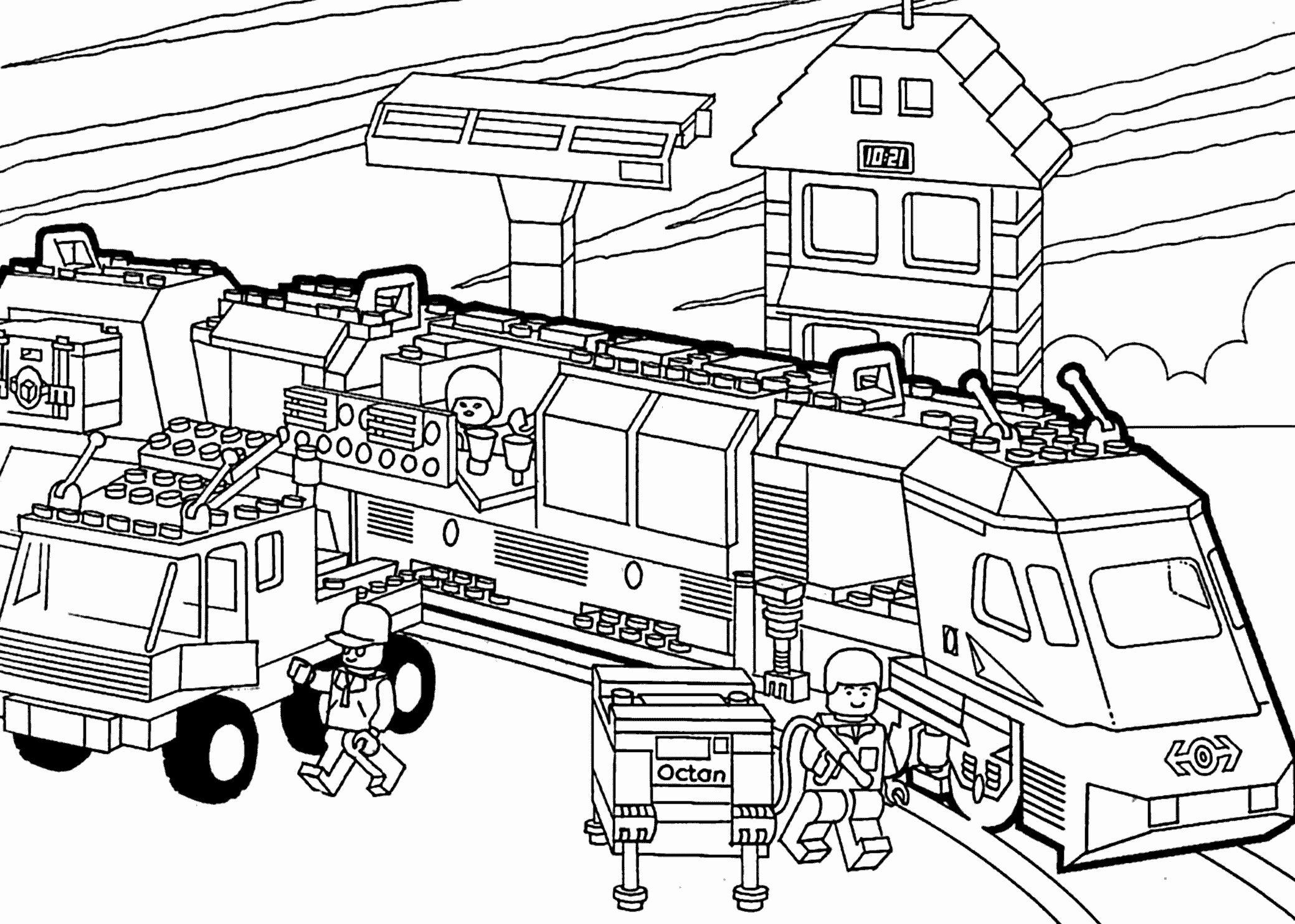 24 Printable Train Coloring Page Djmatioca Com In 2020 With