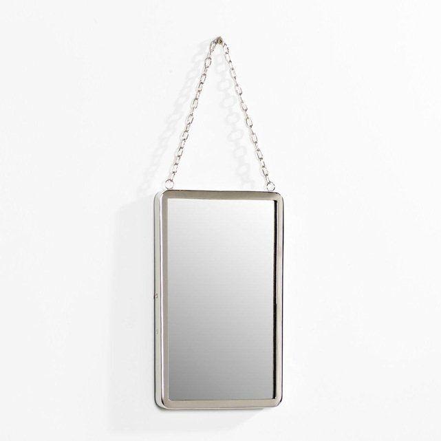 Miroir rect petite taille L17 5 cm Barbier