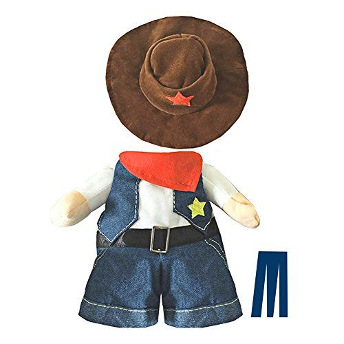 mikayoo pet dog cat halloween costumes the cowboy for party christmas special events costume