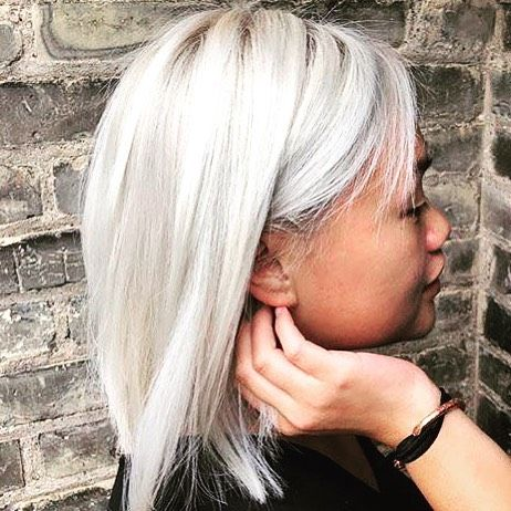 Awesome Color White Hair