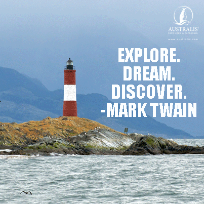 TRAVEL QUOTE #travelquote EXPLORE. DREAM. DISCOVER. -MARK TWAIN