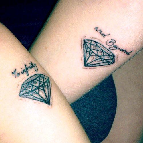 niedlich diamant tattoo-designs | tattoos | tattoos, diamond tattoos