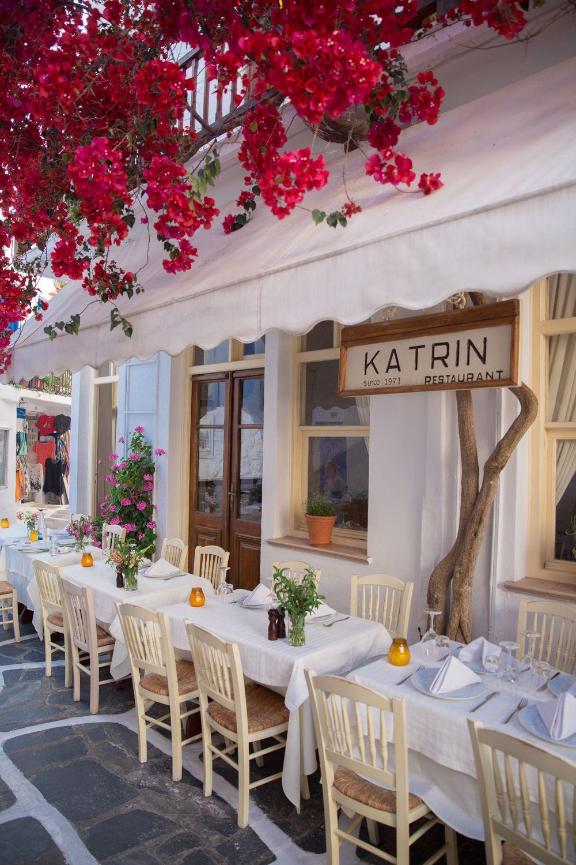 Dinner in Mykonos Town, Greece Mykonos town, Mykonos