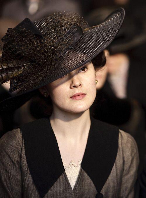 Michelle Dockery as Lady Mary Crawley in Downton Abbey