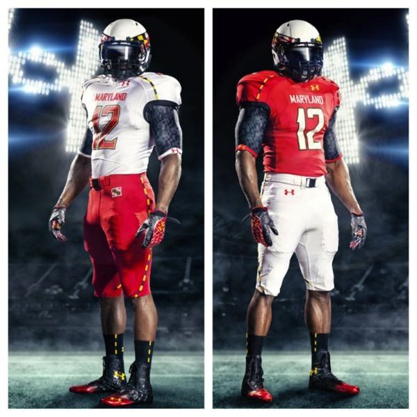 watch 3a04d 3a262 PHOTO: Maryland Under Armour football uniforms for 2012 ...