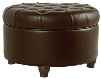 Groovy Home In 2019 Round Storage Ottoman Tufted Storage Ottoman Ocoug Best Dining Table And Chair Ideas Images Ocougorg