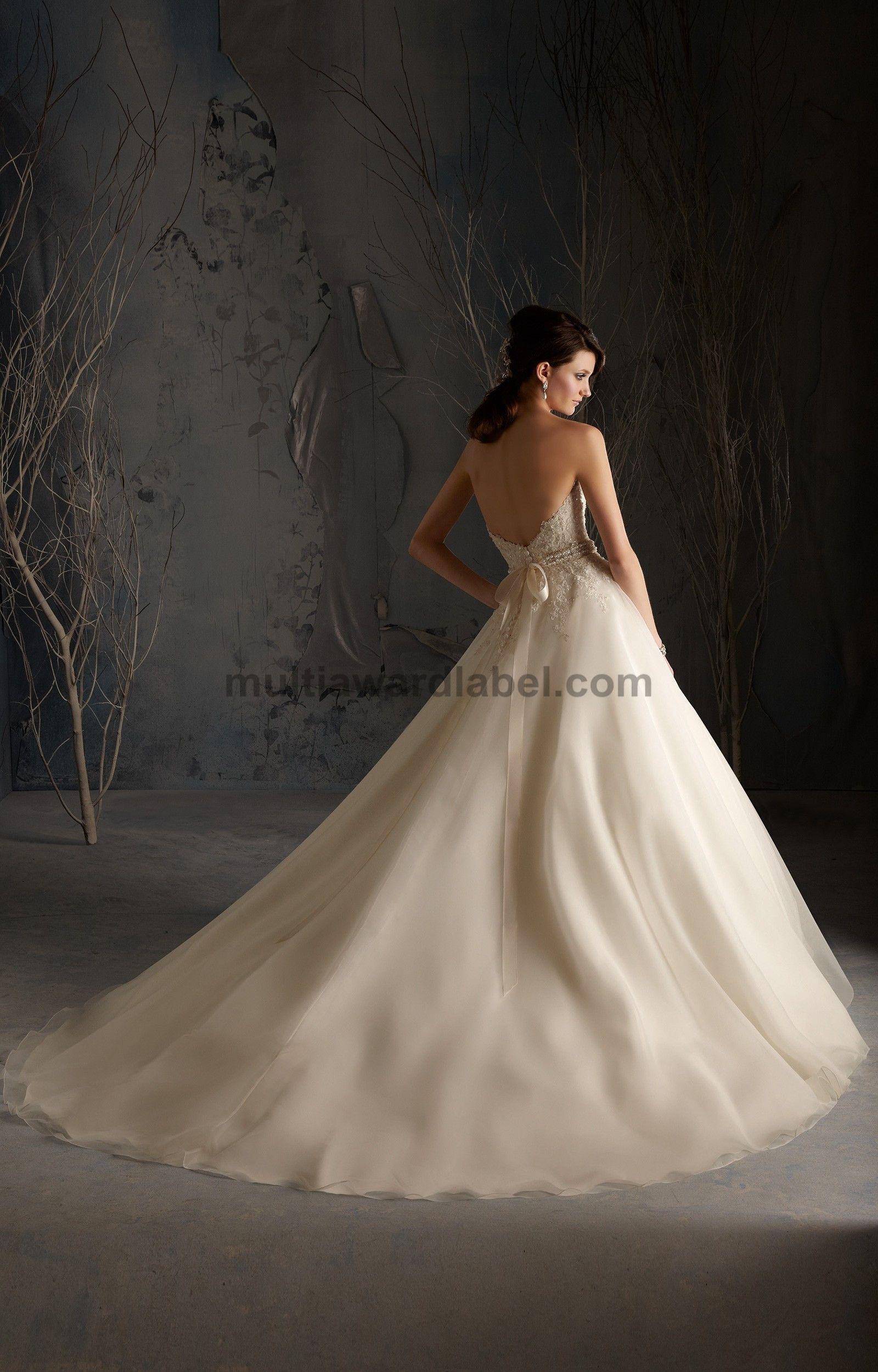 designer bridal gown online sale , Mori Lee Blu - 5174 Dress ...