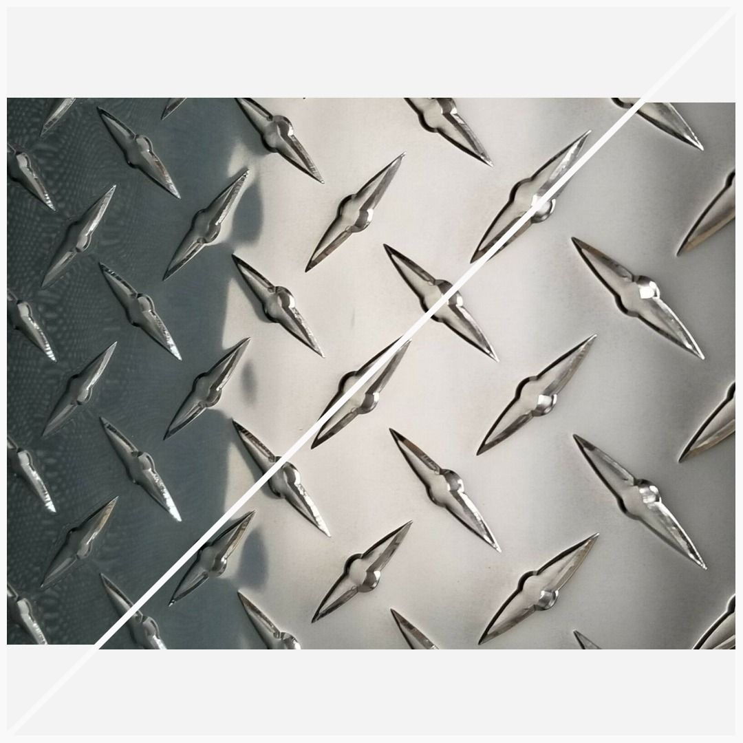 Aluminum Diamond Sheet Plate 12 X 12 3003 063 14 Gauge Free Shipping In 2020 Diamond Plate Aluminum Aluminium Sheet