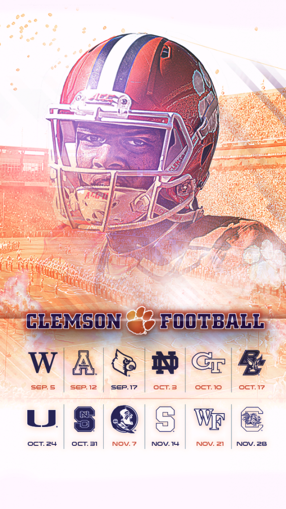 2015 Clemson Wallpaper (iPhone) Iphone wallpaper tricks