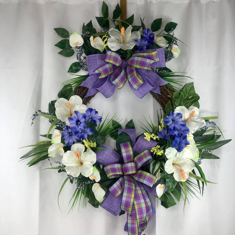 Photo of Wreath for front door, everyday wreath