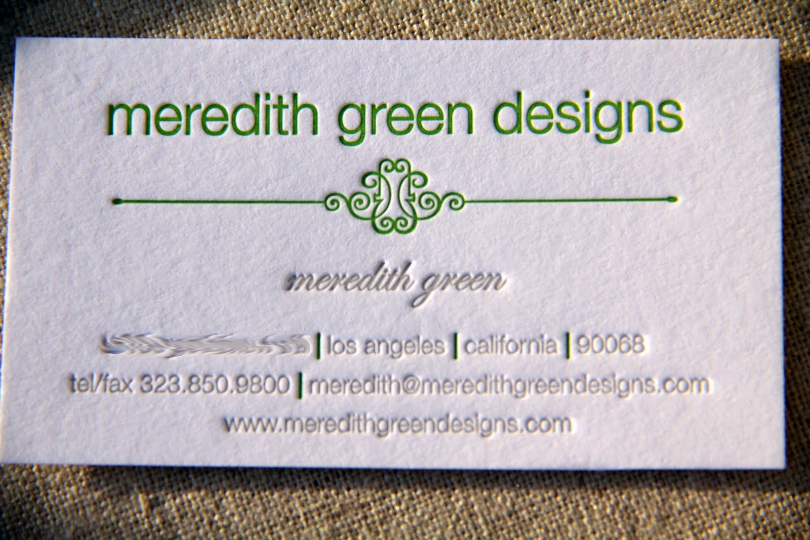 Interior Design Business Card Designs: business card for ...