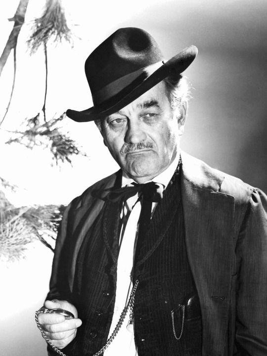 GUNSMOKE (CBS-TV) - Milburn Stone as 'Doc Adams' of Dodge