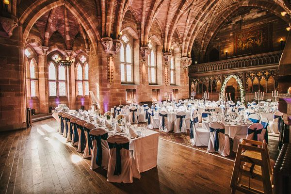 Castle Wedding Venues: Peckforton Castle In Cheshire #guidesforbrides
