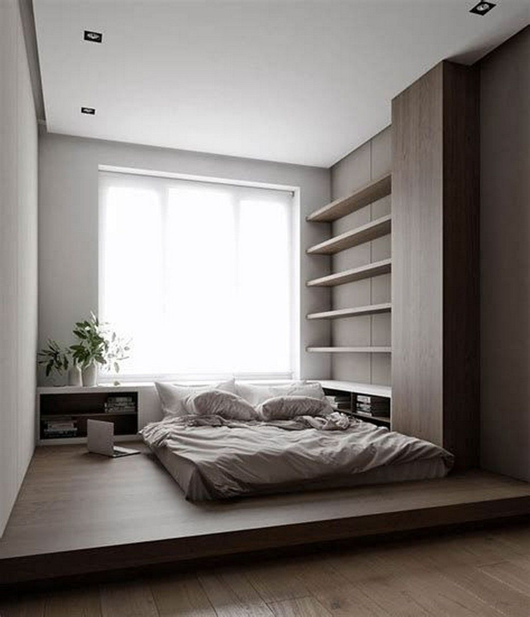 The Minimalistic Japanese Bedroom Theme Is Now Purchase Popularity And Distressing Int Japanese Style Bedroom Minimalist Bedroom Design Interior Design Bedroom