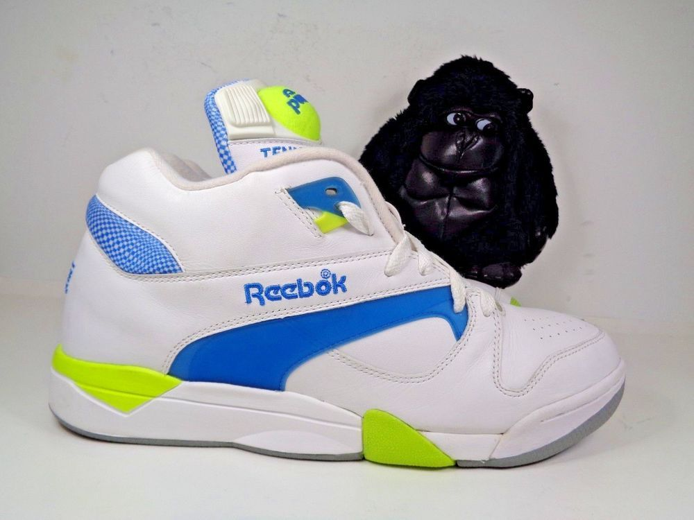 6109a4f30f8 Mens Reebok Court Victory Pump Hexalite Tennis Basketball shoes size 11 US   Reebok  BasketballShoes
