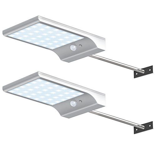 Innogear Solar Gutter Lights With Mounting Pole Outdoor M Https Www Amazon Com Dp B01i Security Lights Wall Sconce Lighting Outdoor Solar Lights
