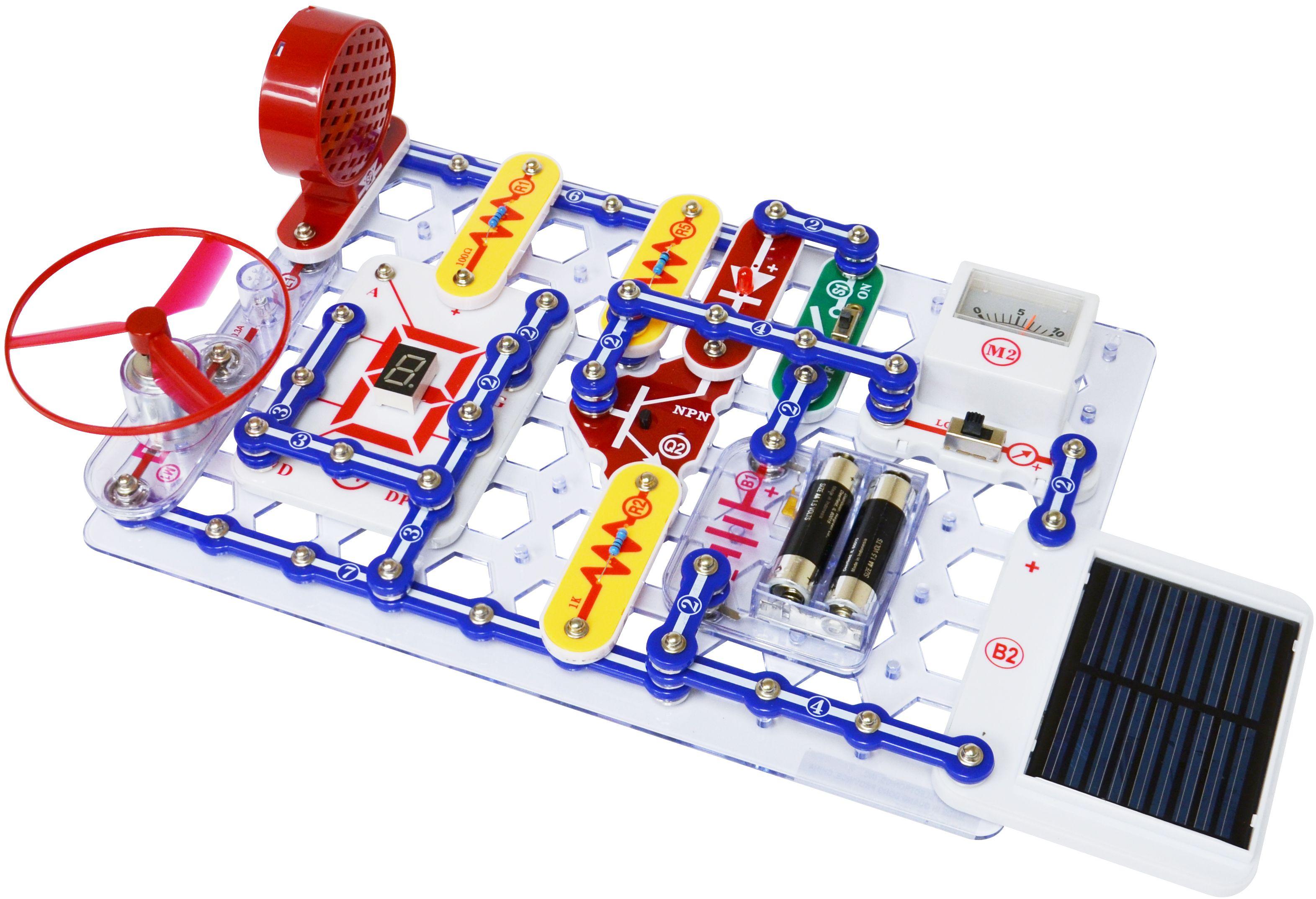 Model Sc 750 Snap Circuits Extreme Experiments Snapcircuits Fm Radio Kit Ebay