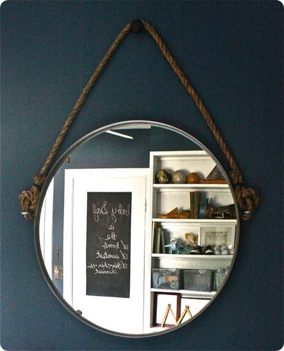 Best 25 Rope Mirror Ideas On Pinterest Nautical Mirror