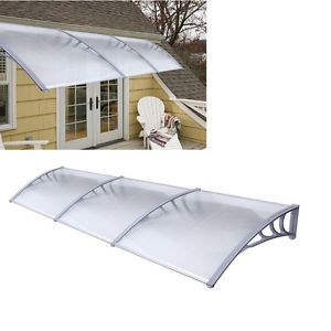 UV Rain Awning Canopies Patio Cover Gardenning Protection ... on Patio Cover Ideas For Rain id=99100