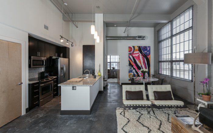 Einrichtungsideen Wohnungsgestaltung Dachwohnung Einrichten