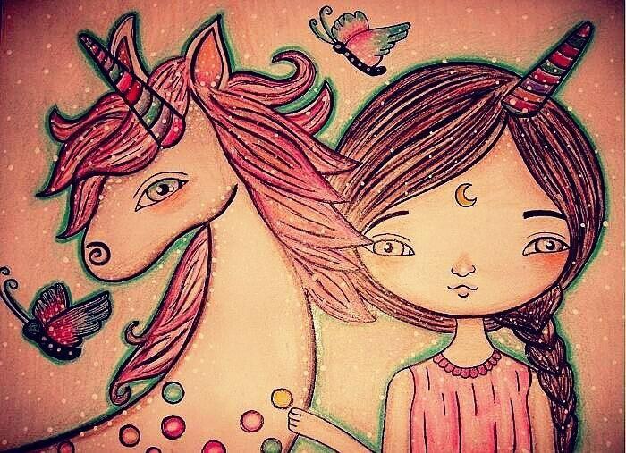 Karen Steph「Unicorn momets」