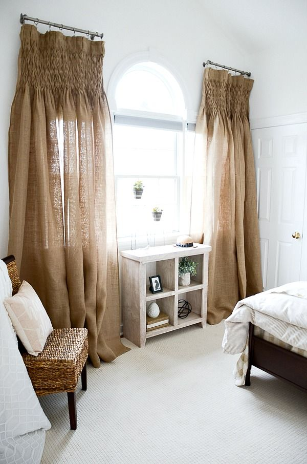 5 BEST TIPS FOR ADDING NEUTRALS TO YOUR ROOM | Farmhouse ... on Farmhouse Bedroom Curtain Ideas  id=42717