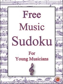 free music themed sudoku puzzle music assignments written