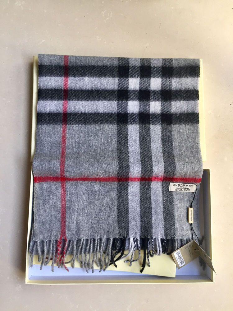 938d16e5a1f3 usa burberry cashmere scarf ebay 77c40 95e7f