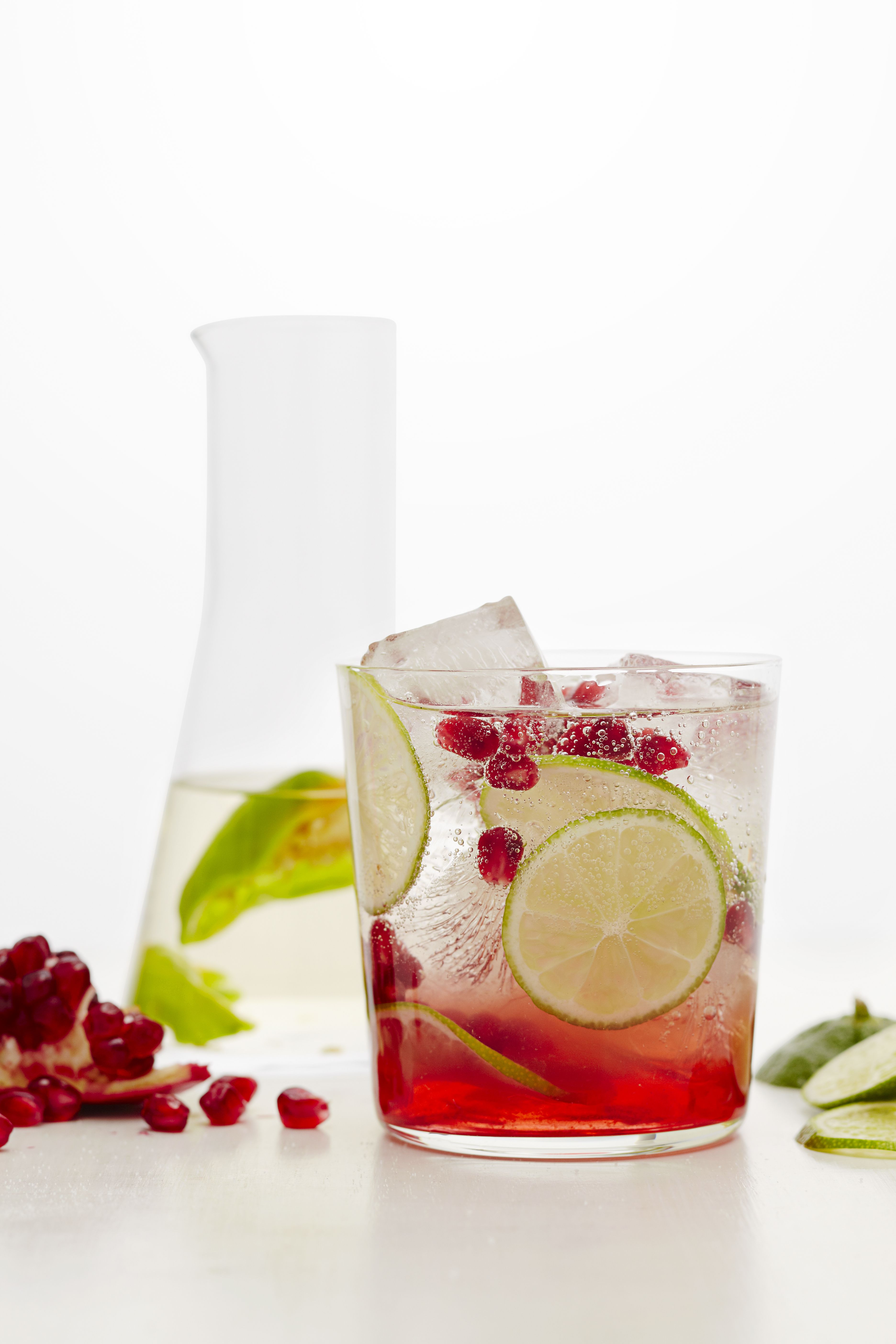 Pomegranate Margaritas with Habanero Tequila Recipe