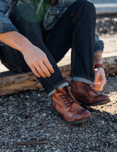Steve Madden Patronn Boot - Men's Shoes in Tan