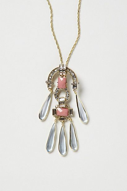 Mimbres Chime Pendant Necklace; cool as earrings too; #anthropologie