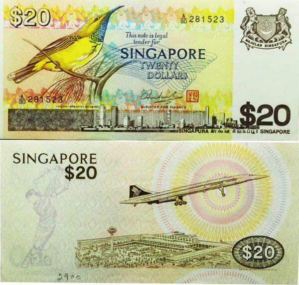 Bank Of Singapore Cuestión De Billetes Pinterest Münzen