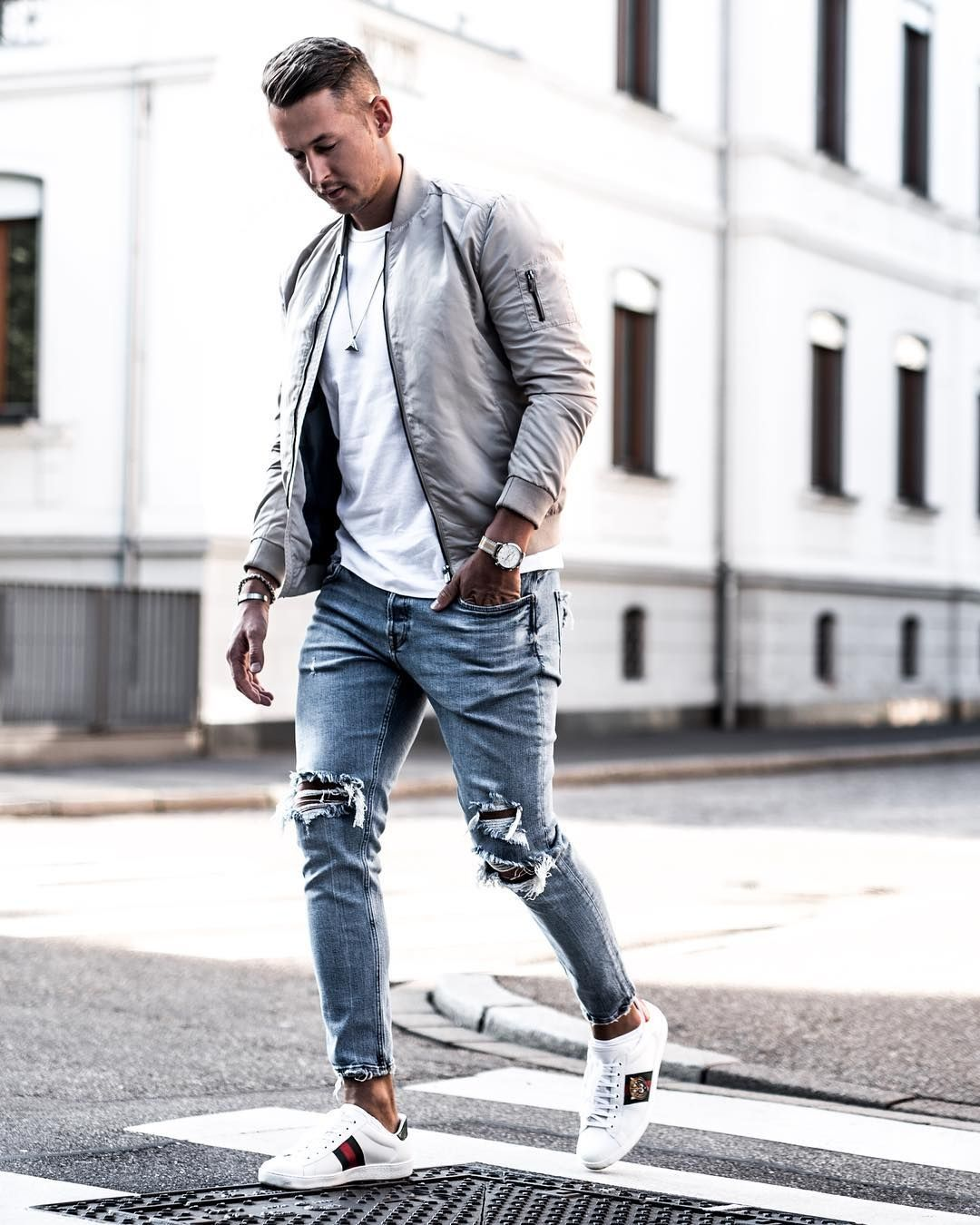 49fa3685 Ripped Jeans Outfit Ideas For Men | Best Fashion Tips For Men | Mens ...