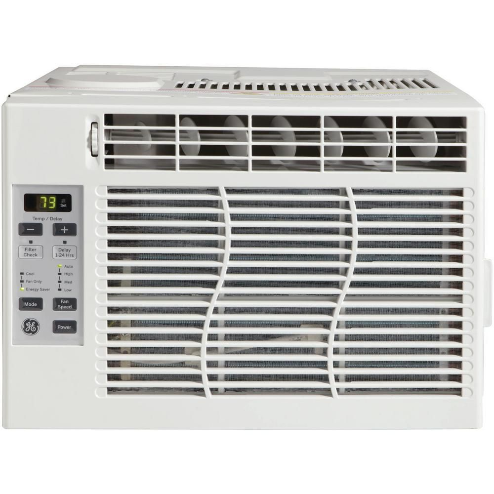 Ge 6 000 Btu 115 Volt Electronic Room Window Air Conditioner With