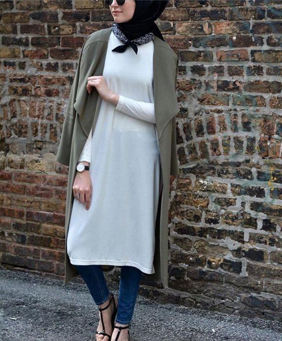 Hijab Fashion 2016 2017  Elifd0gan Hijab Fashion 2016 2017  Sélection de looks  tendances spécial voilées Look Descreption Elifd0gan 69dd395543b