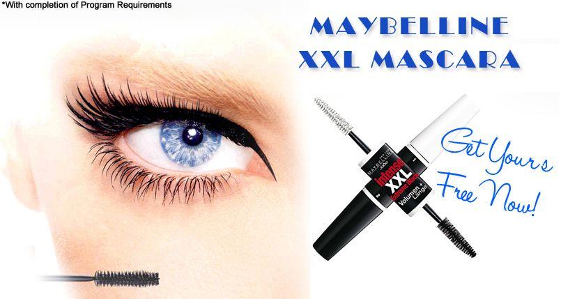Free #Maybelline XXL #Mascara