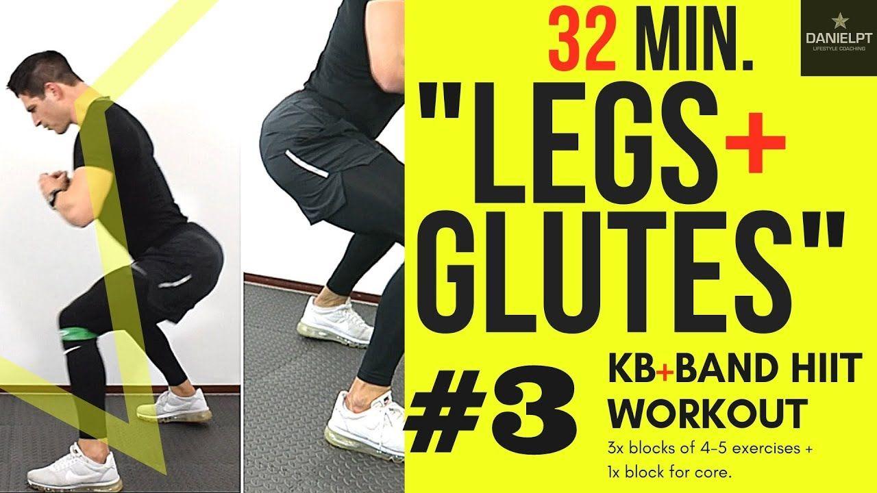 BUTT AND LEGS WORKOUT   Kettlebell and Band HIIT WORKOUT part 3   DANIELPT #legsandglutesworkout #legsandglutesathomeworkout #legsandbuttworkout #legsandglutesworkoutwithresistanceband