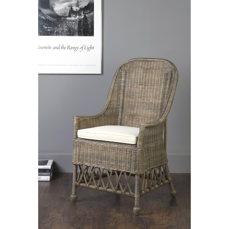 East at mains marietta brown rattan square accent chair marietta 101 gr