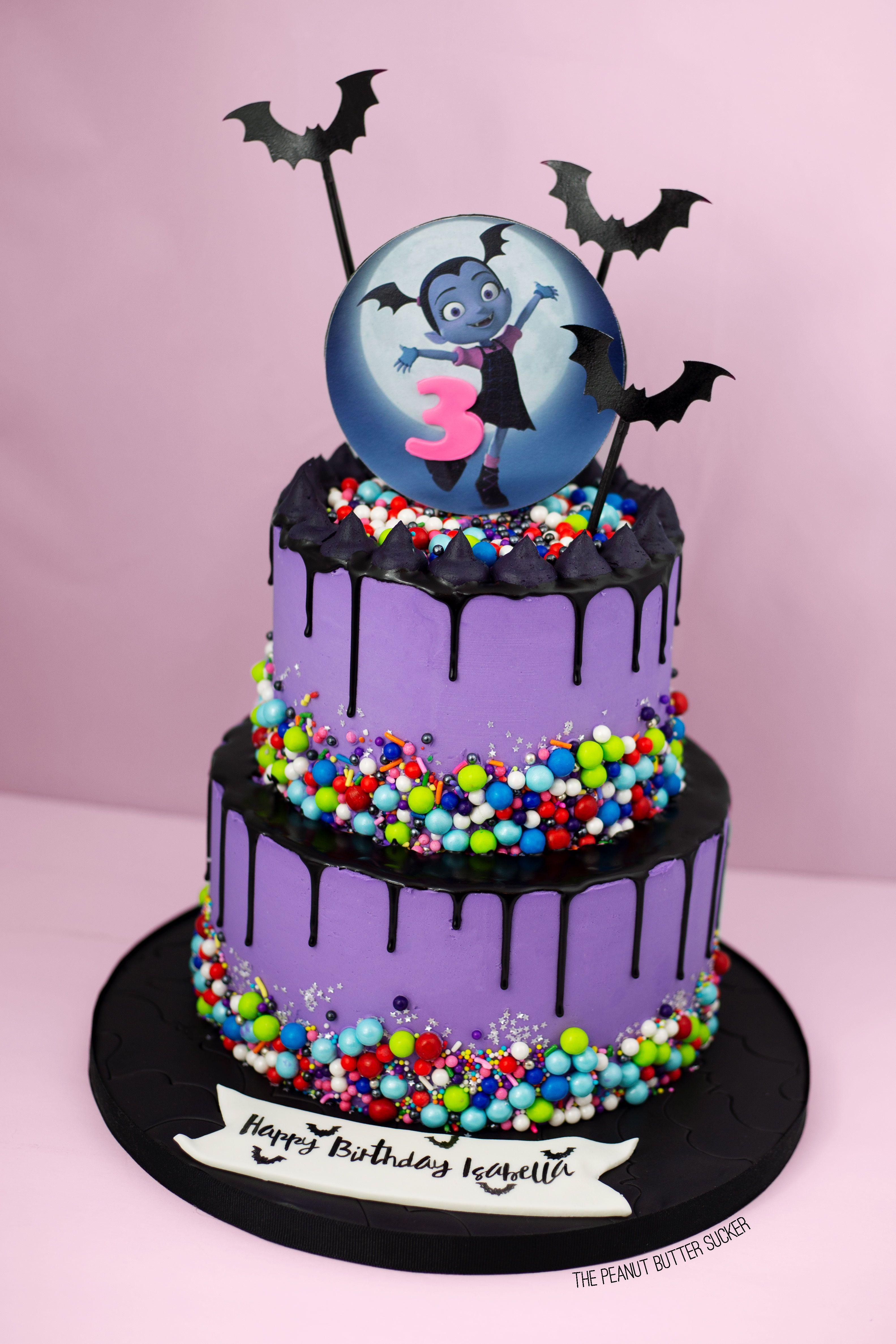 Vampirina Inspired Birthday Cake