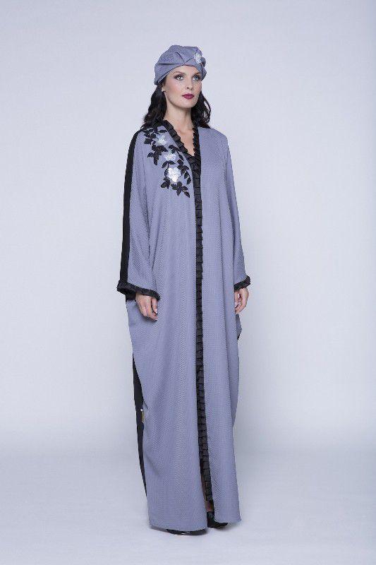 ازياء محجبات تشكيلة من العبايات الخليجية لإطلالة مميزة في العيد Abaya Designs Abaya Fashion Ready To Wear