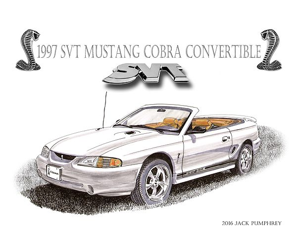 Officially named the Ford SVT Mustang Cobra, it is a pony