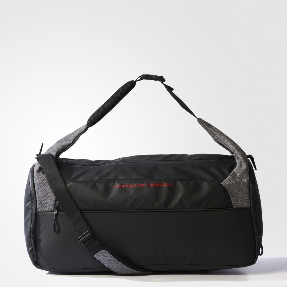 Adidas Porsche Design OT Teambag Shoulder Sport Bag Gym Black Gray S99541  NEW  adidas  DuffleGymBag d25fc4d26fef5