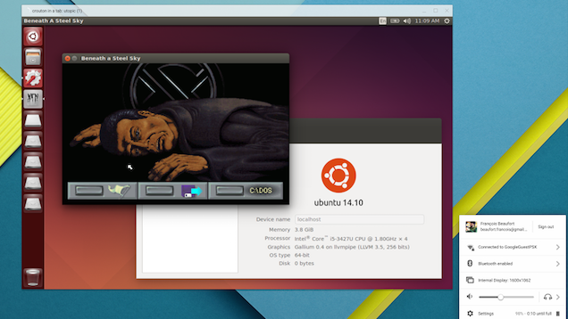 Chromebooks Can Now Run Linux in Its Own Window Desktop