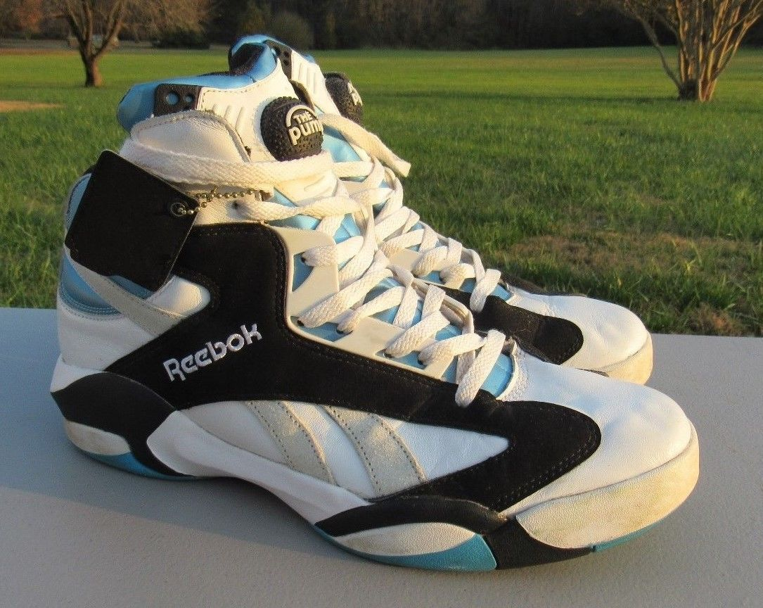 fa1721fd9c17 Details about Reebok Pump Shaq Attaq Retro LA Magic Size 12 OG NBA ...