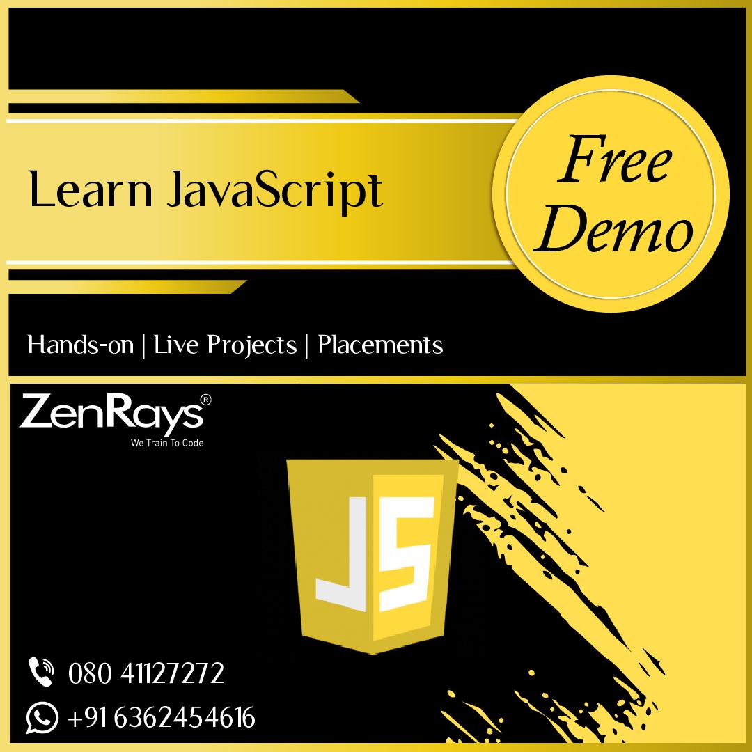 Best JavaSctipt Training Institute in Bangalore Web