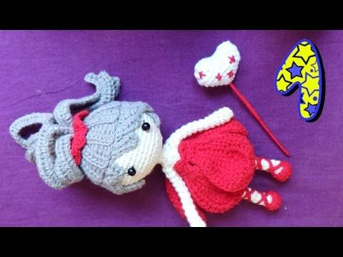 Amigurumi Doll Arms : Part head starting on the body and arms muÑeca articulable