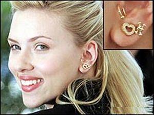 another gold hoop tragus Piercing Pinterest Tragus Gold hoops