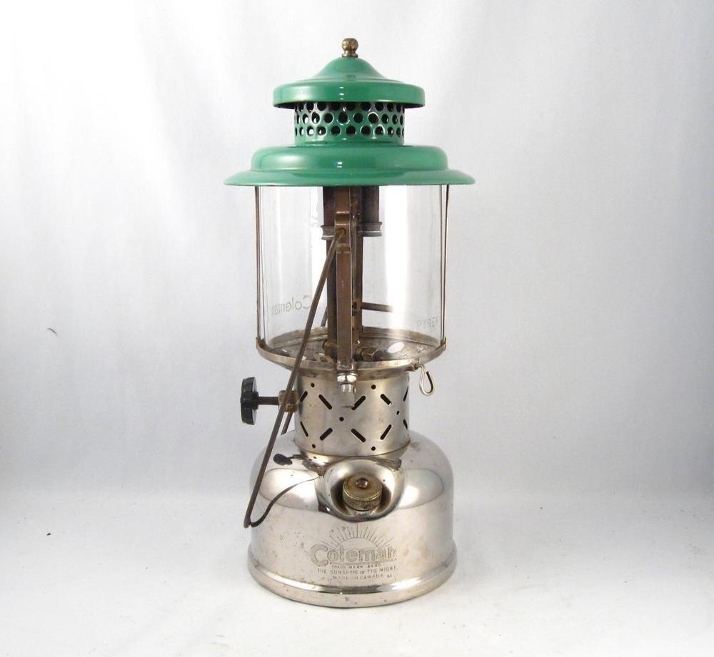 1940 coleman lantern model 220b double mantle | LANTERNS / OIL LAMPS